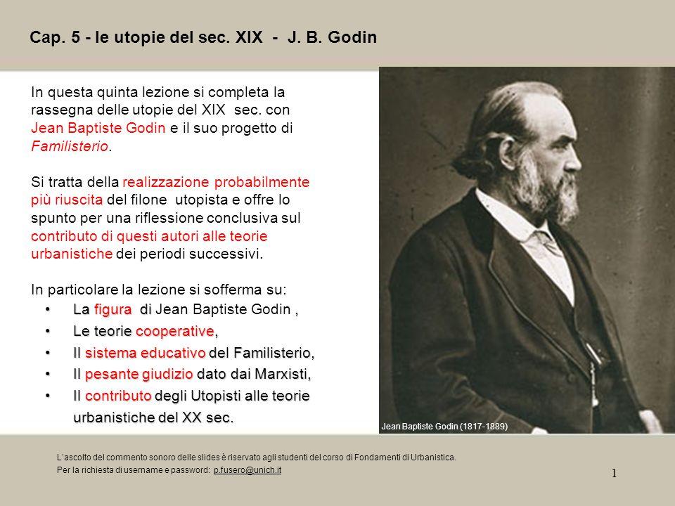1 Cap.5 - le utopie del sec. XIX - J. B.