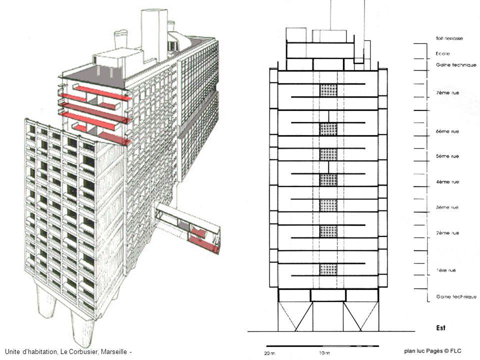 21 - Unitè d'habitation1 Unite d habitation, Le Corbusier, Marseille -
