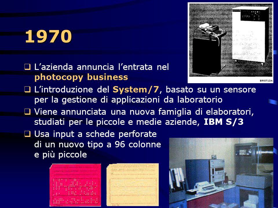 1970 Database relazionali  La teoria sui Database Relazionali viene introdotta da Ted Codd  Con questo modello diventa possibile lavorare con dati r