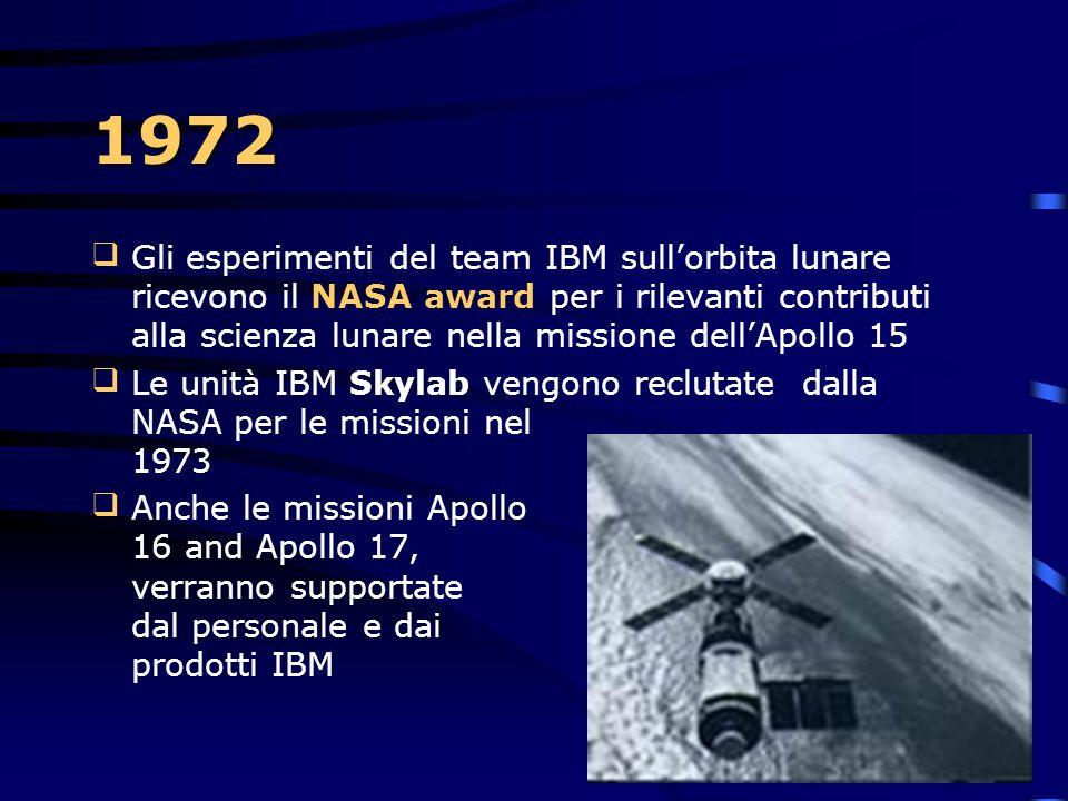 1972 L'IBM annuncia: il System/370 Modelli 125, 158 e 168 il Mag Card