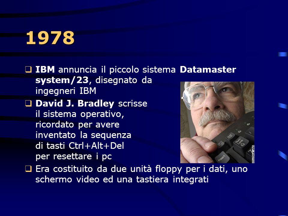 System/34  Nasce il green screen, al quale l'IBM si affezionerà talmente tanto da mantenerlo immutato per i successivi 25 anni!