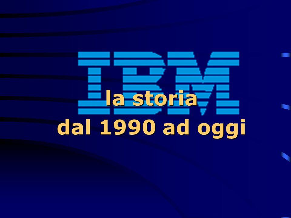 1989  All'inizio dell'anno viene annunciato l'AS/400 B70, che consente maggiore espansione di memoria e spazio su dischi, nonché di collegare un magg