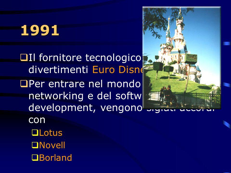 1991  Un nuovo S.O. Per la famiglia S/390: Advanced Interactive Executive/Enterprise System Architecture (AIX/ESA), basato su Unix e sugli standards