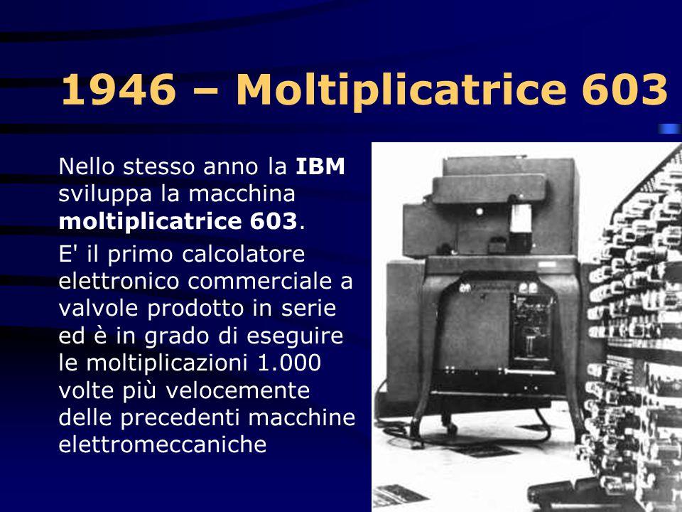 1946 Macchina a ideogrammi L'IBM introduce una macchina da scrivere i cinese elettrica, che permette ad un utente con esperienza di scrivere ad un tas
