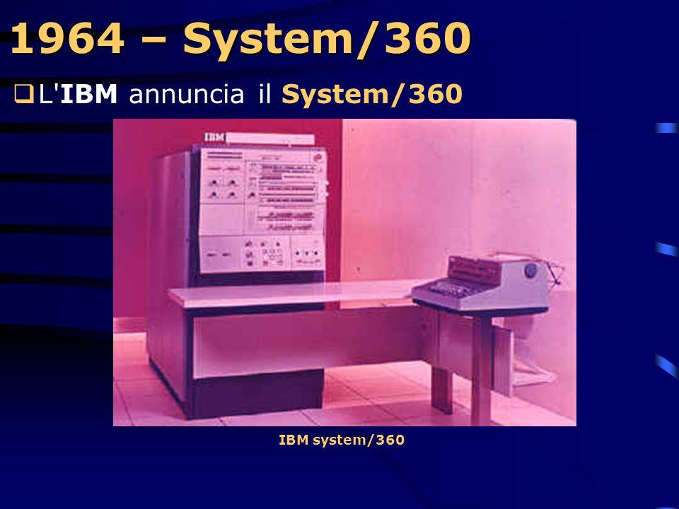1962 – APL  La IBM sponsorizza il linguaggio APL, (A Programming Language) sviluppato da Ken Iverson alla Harvard University (USA).  D'ispirazione m