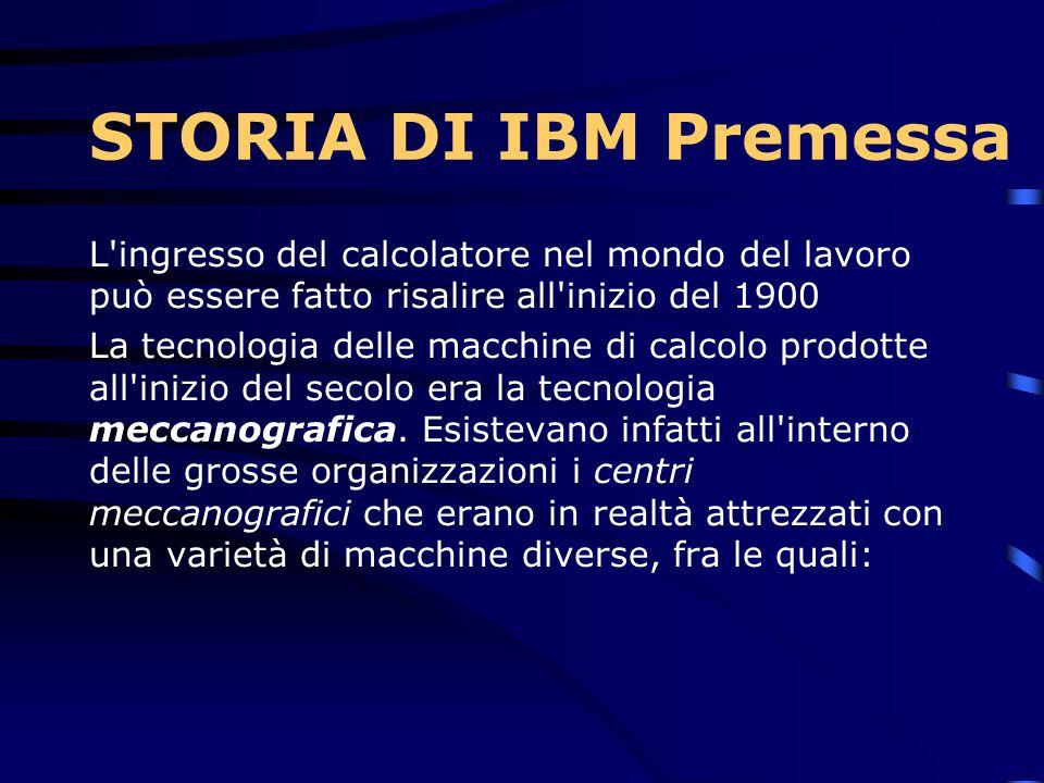1959…  L IBM opera prevalentemente tramite la sua prima sede in Milano (via Tolmezzo), sede ancora oggi dedicata ai Forum di presentazione ed ai corsi per i clienti.