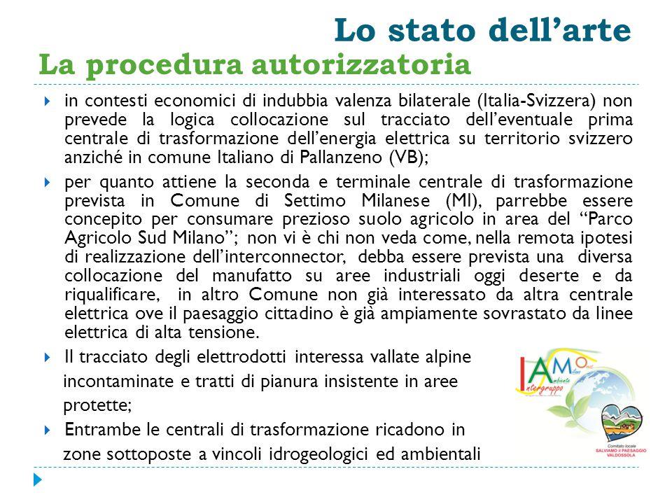 Lo stato dell'arte  in contesti economici di indubbia valenza bilaterale (Italia-Svizzera) non prevede la logica collocazione sul tracciato dell'even