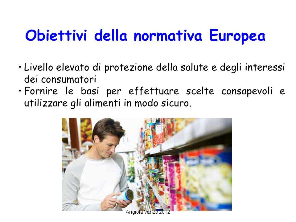 2 Livello elevato di protezione della salute e degli interessi dei consumatori Fornire le basi per effettuare scelte consapevoli e utilizzare gli alimenti in modo sicuro.