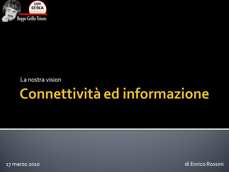 La nostra vision di Enrico Rossini17 marzo 2010