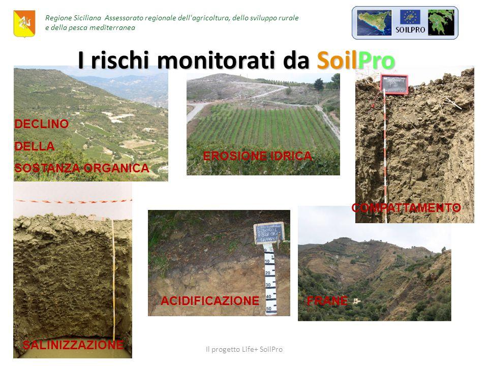 Area pilota Regione Sicilia, Assessorato Regionale delle Risorse Agricole ed Alimentari Il progetto Life+ SoilPro Regione Siciliana Assessorato regionale dell agricoltura, dello sviluppo rurale e della pesca mediterranea