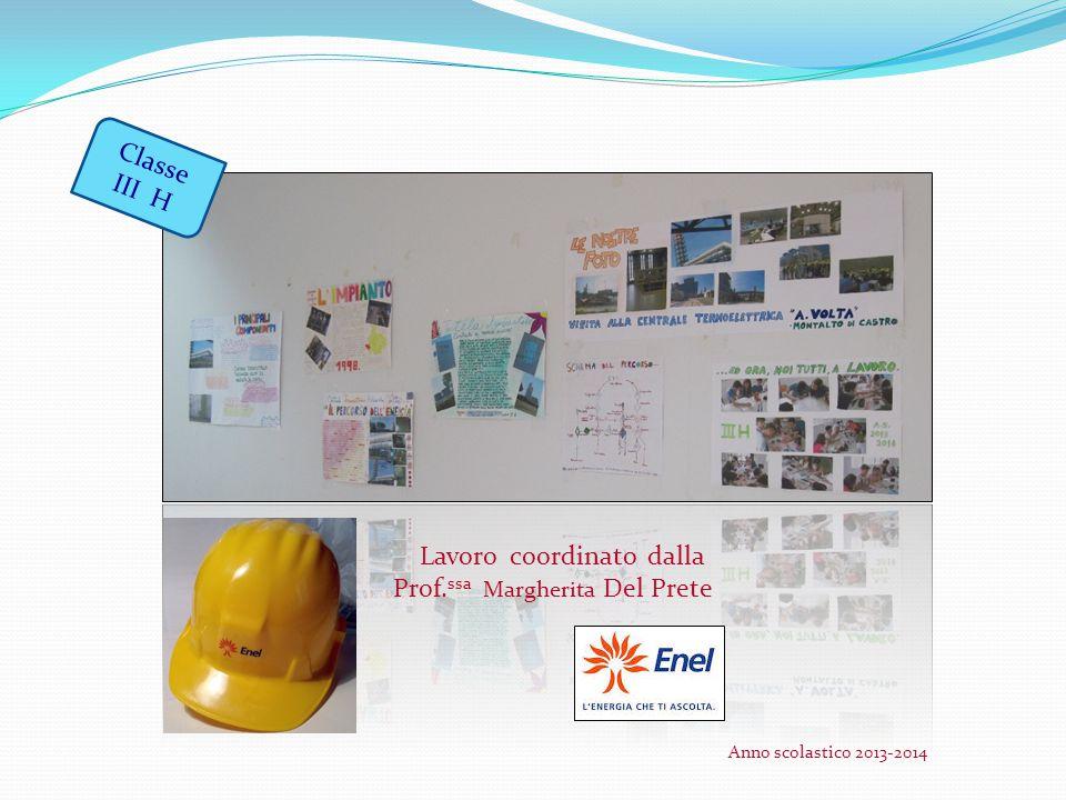 Lavoro coordinato dalla Prof. ssa Margherita Del Prete Classe III H Anno scolastico 2013-2014