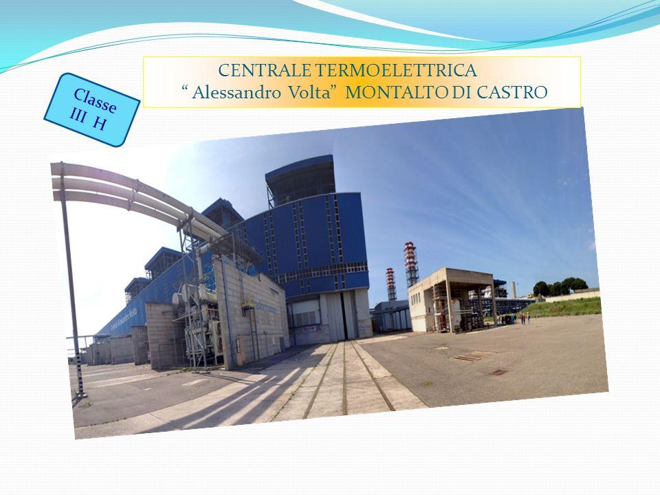Classe III H CENTRALE TERMOELETTRICA Alessandro Volta MONTALTO DI CASTRO