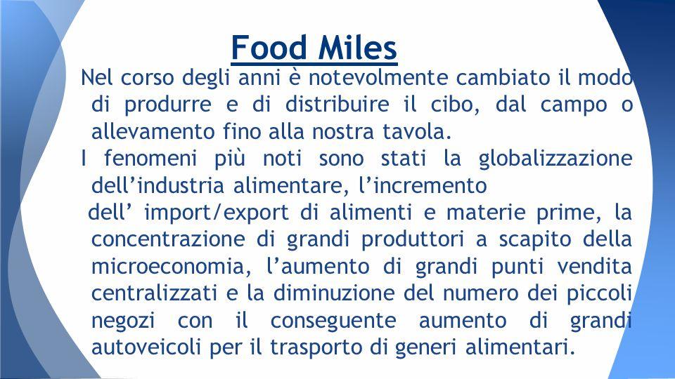 Nel corso degli anni è notevolmente cambiato il modo di produrre e di distribuire il cibo, dal campo o allevamento fino alla nostra tavola.