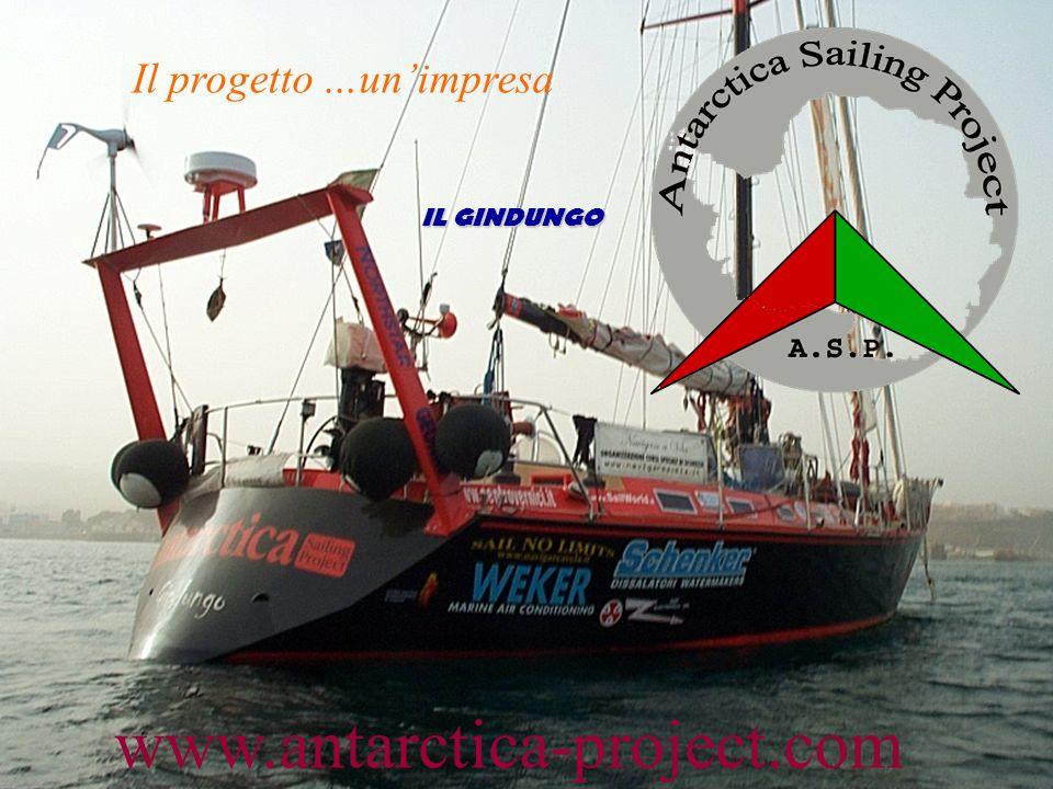 www.antarctica-project.com Il progetto …un'impresa IL GINDUNGO