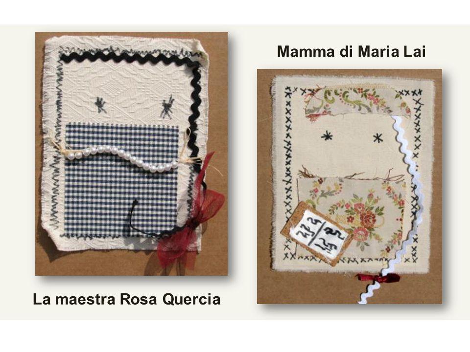 Mamma di Maria Lai La maestra Rosa Quercia