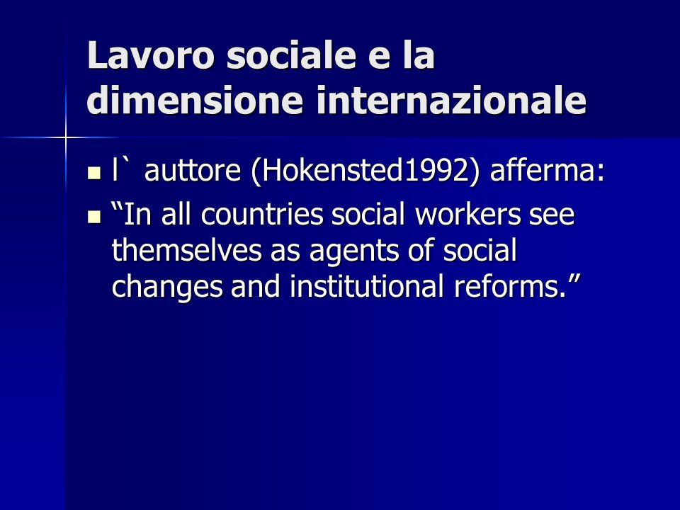 Confronti un valore pragmatico; un valore pragmatico; attraverso i confronti si riconoscono forme alternative della prassi sociale che possono apportare impulsi innovativi e spronare a riflessioni.