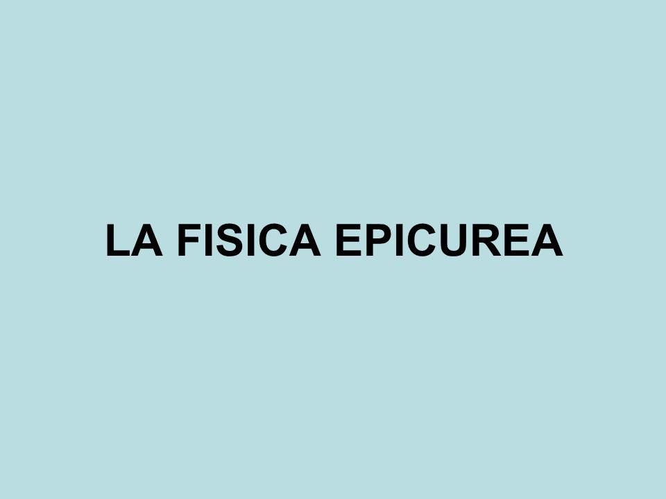 LA FISICA EPICUREA