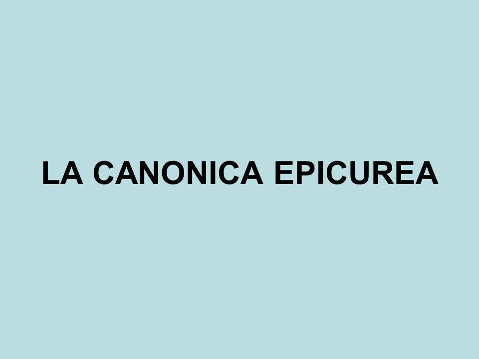 LA CANONICA EPICUREA