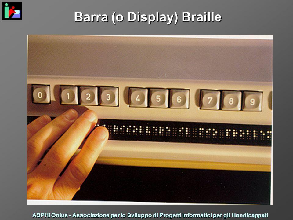 Barra (o Display) Braille ASPHI Onlus - Associazione per lo Sviluppo di Progetti Informatici per gli ASPHI Onlus - Associazione per lo Sviluppo di Progetti Informatici per gli Handicappati
