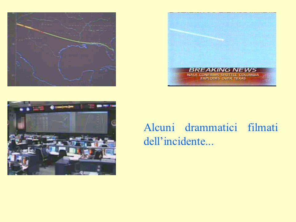 Alcuni drammatici filmati dell'incidente...