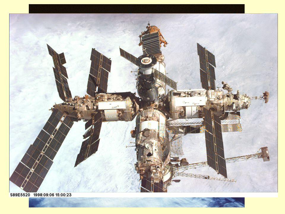 La Mir e lo Shuttle Lo straordinario laboratorio orbitale sovietico.