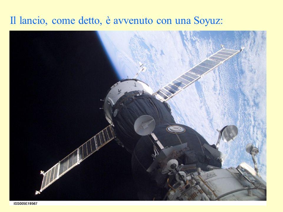 Il lancio, come detto, è avvenuto con una Soyuz: