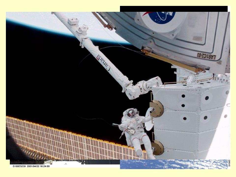 Ma vediamo alcune delle componenti della Stazione Spaziale Internazionale: il Canadarm2