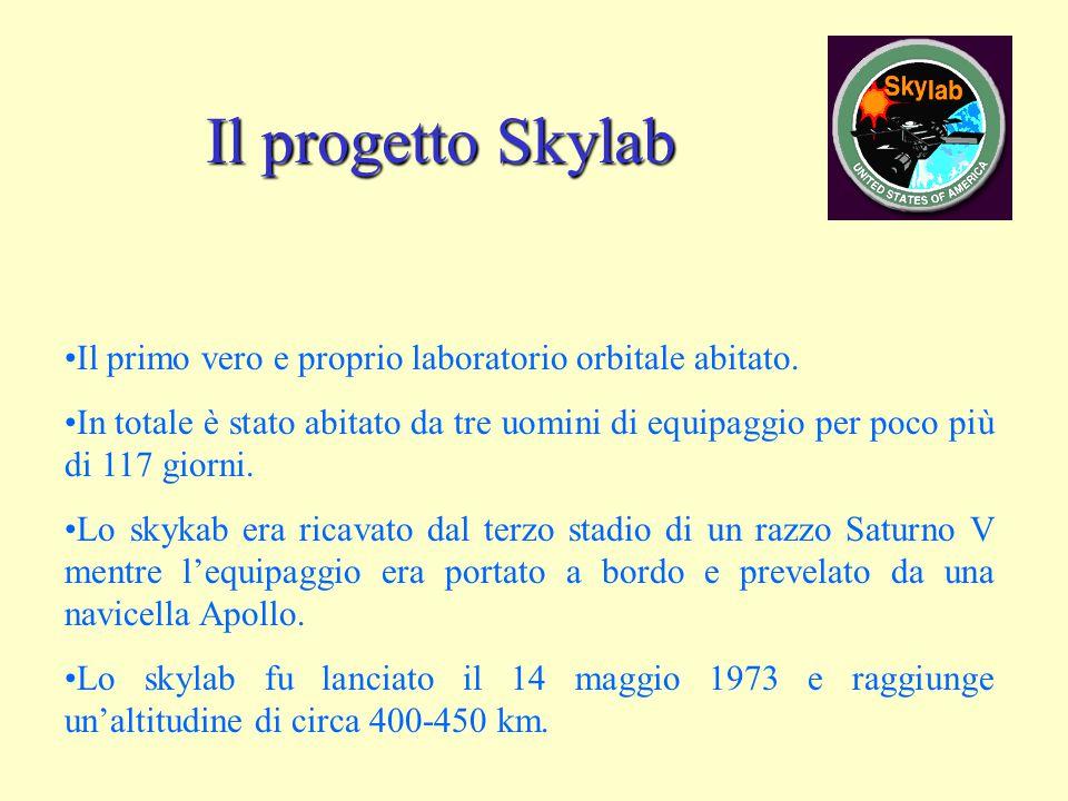 Il progetto Skylab Il primo vero e proprio laboratorio orbitale abitato.