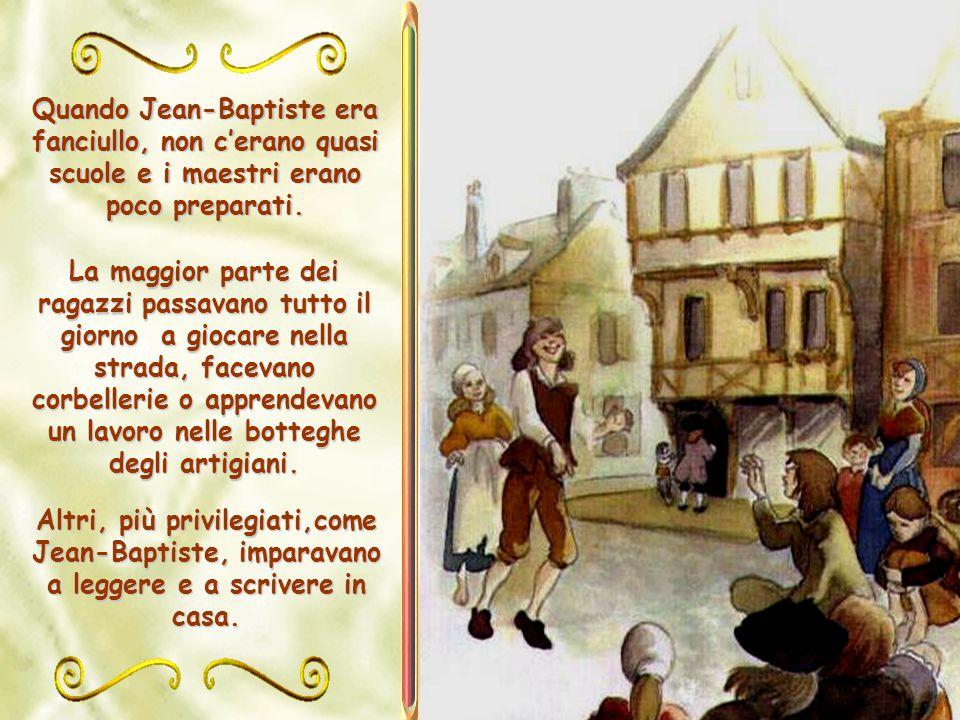 Luigi de La Salle voleva fare del suo primogenito un vero signore, colto e cristiano.