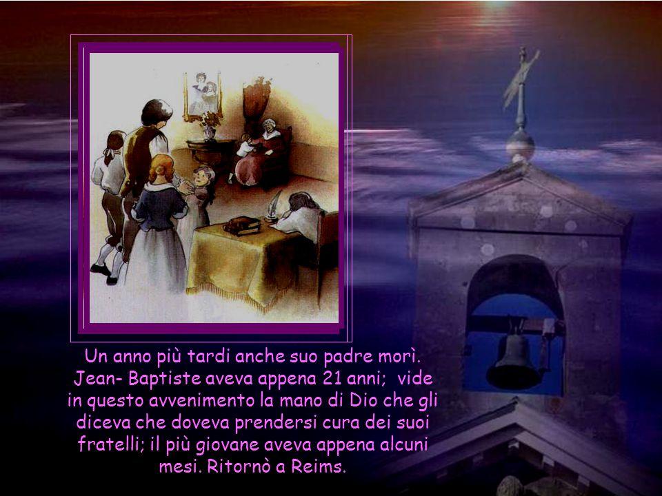 Non aveva ancora terminata la prima parte dei suoi corsi alla Sorbona, quando ricevette la triste notizia della morte di sua madre che tanto amava.