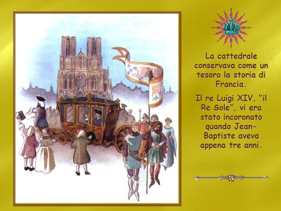 La cattedrale conservava come un tesoro la storia di Francia.