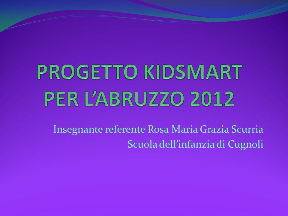 Insegnante referente Rosa Maria Grazia Scurria Scuola dell'infanzia di Cugnoli