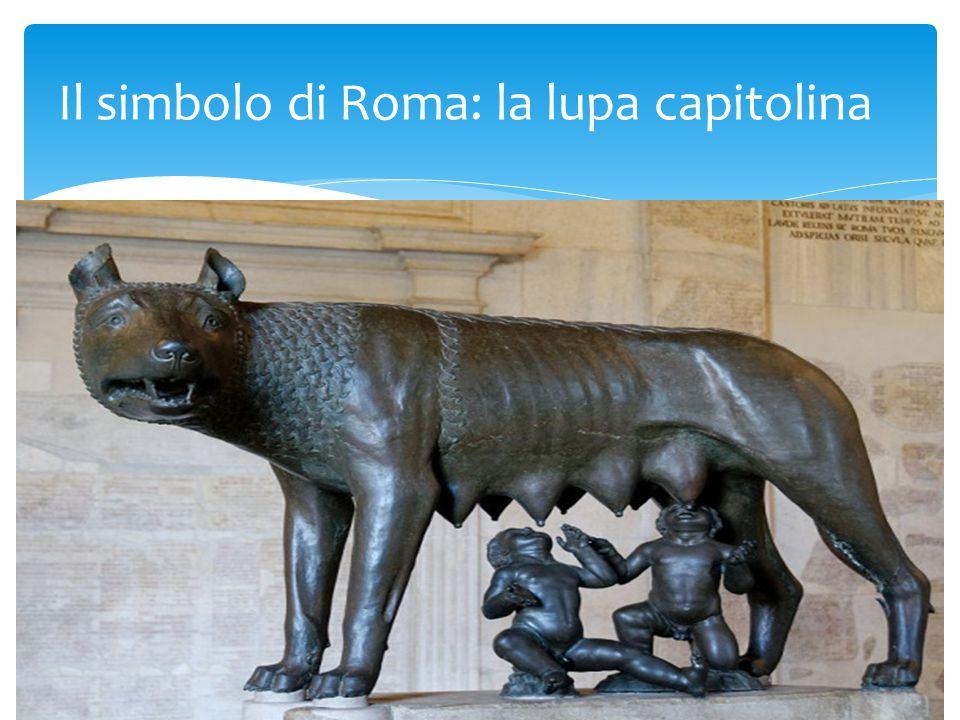 Il simbolo di Roma: la lupa capitolina