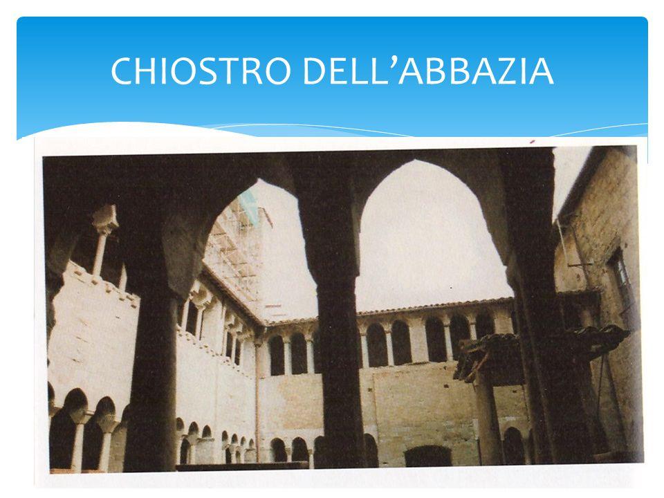 CHIOSTRO DELL'ABBAZIA