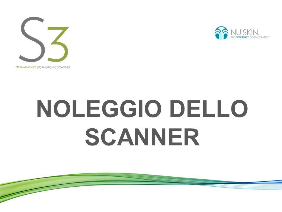 Contratto per lo Scanner Il BioPhotonic Scanner è brevettato ed è di proprietà di Pharmanex.