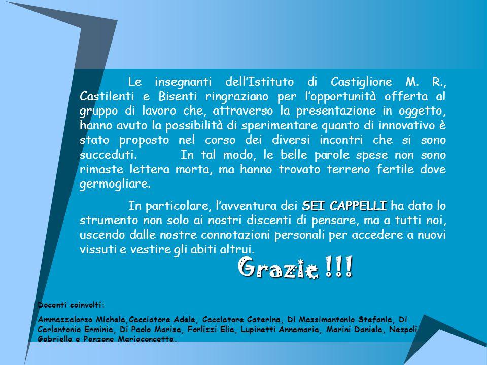 Le insegnanti dell'Istituto di Castiglione M.