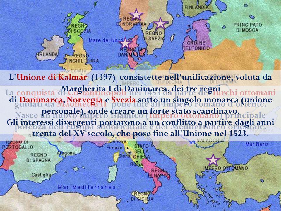La conquista di Costantinopoli nel 1453 da parte dei Turchi ottomani guidati da Maometto II pone fine all'Impero romano d'oriente. Nasce un nuovo impe