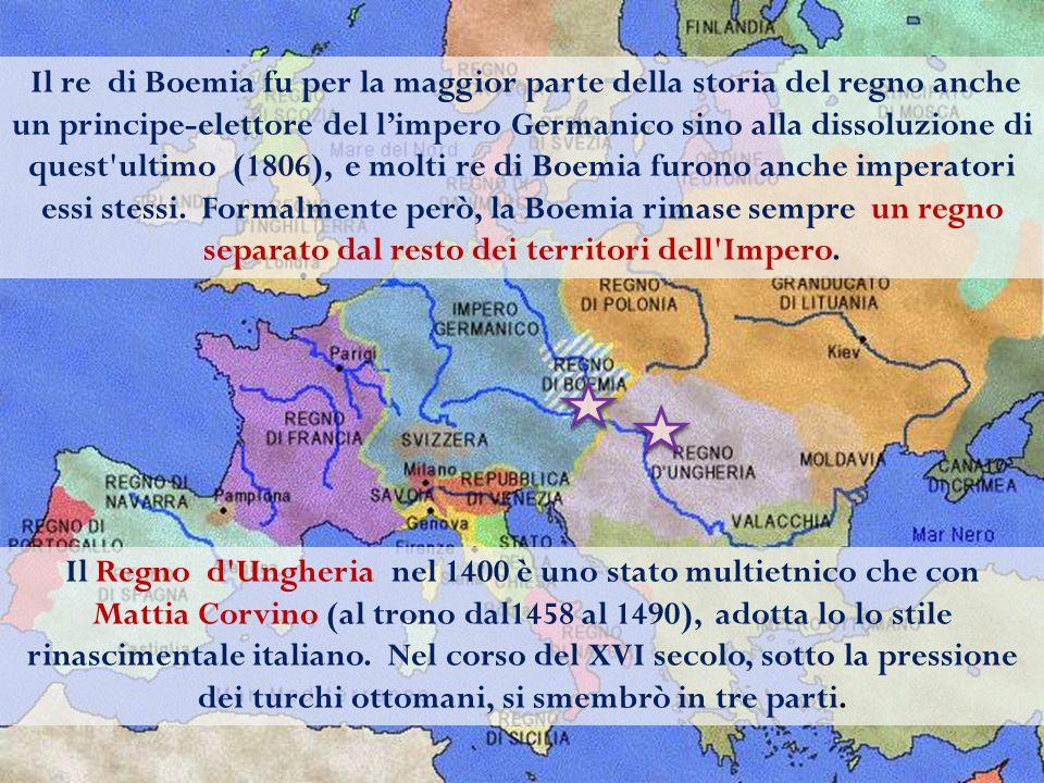 Il re di Boemia fu per la maggior parte della storia del regno anche un principe-elettore del l'impero Germanico sino alla dissoluzione di quest'ultim