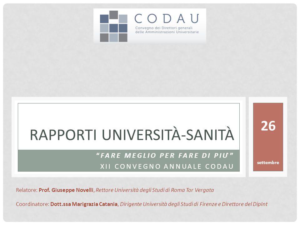SANITA' LA PIU' GRANDE AZIENDA D'ITALIA Sorrento, 25/27 settembre 2014 2 Il 74,5 % del bilancio delle Regioni è speso per la Salute