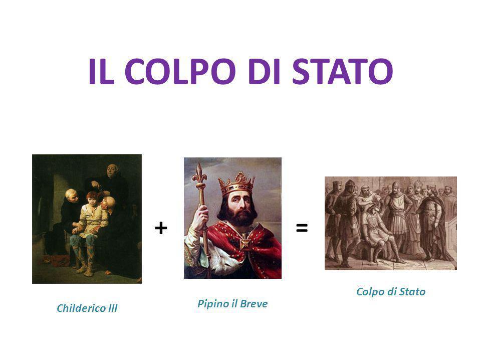 IL COLPO DI STATO =+ Childerico III Pipino il Breve Colpo di Stato