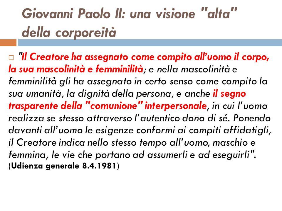 Giovanni Paolo II: una visione