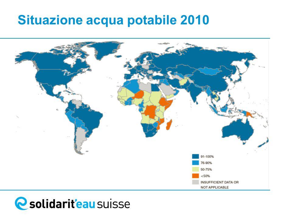 Situazione acqua potabile 2010