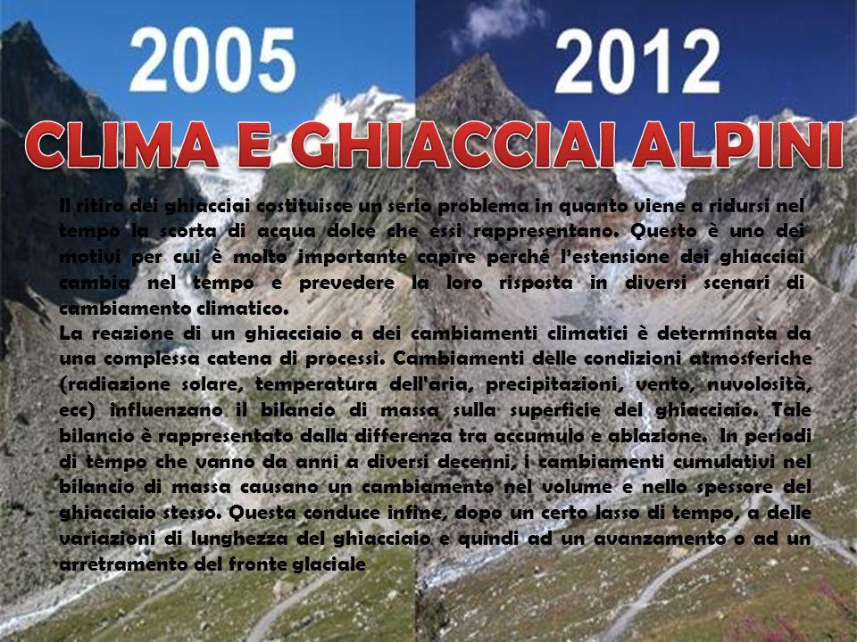 Immagine del ghiacciaio di Pre de Bar (Valle d'Aosta).