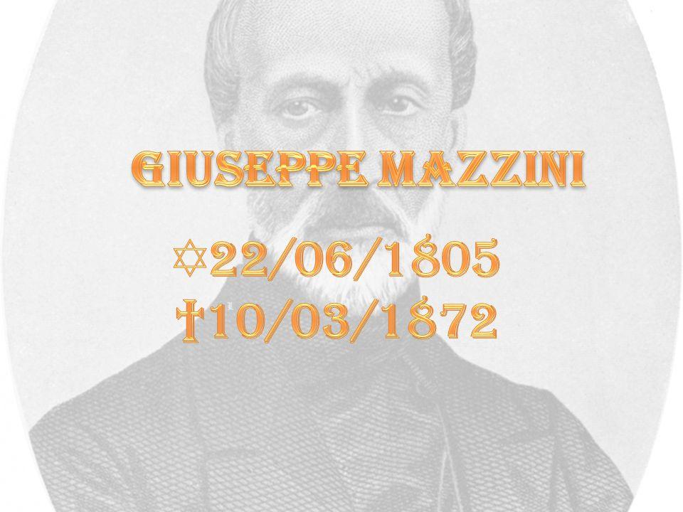 Il patriota e teorico politico Giuseppe Mazzini (Genova 1805 - Pisa 1872) crebbe in un ambiente familiare che si ispirava agli ideali politici della Repubblica ligure creata da Napoleone nel 1797 e, sul piano religioso, al giansenismo più rigoroso e austero.