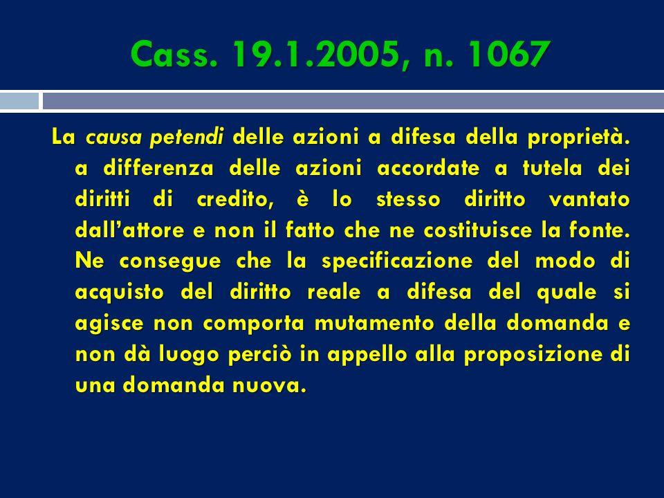 REQUISITI DI CONTENUTO-FORMA DELLA CITAZIONE 3) determinazione dell'oggetto della domanda; 4) esposizione dei fatti e degli elementi di diritto, con l