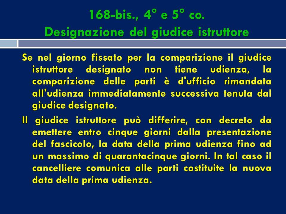 70-bis. Computo dei termini di comparizione  I termini di comparizione, stabiliti nell'art. 163- bis del codice, debbono essere osservati in relazion