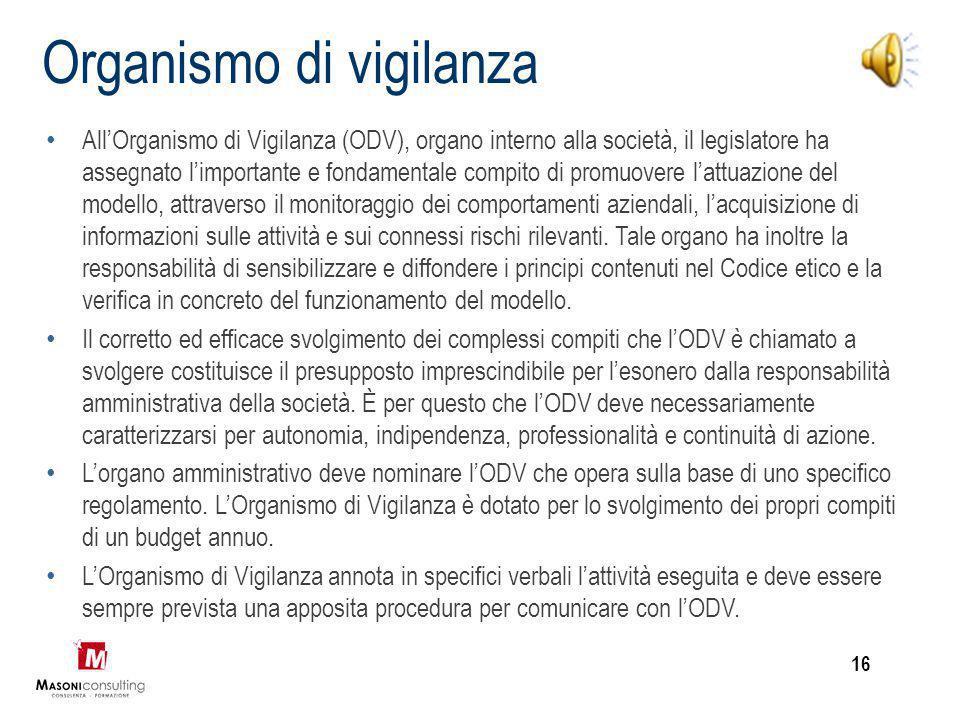 Funzioni del Modello I modelli di organizzazione e gestione, introdotti dal legislatore italiano sulla scorta di esperienze maturate nell'ambito di or