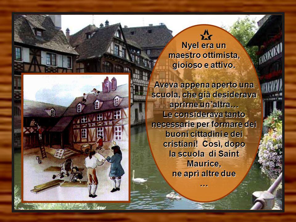 Jean-Baptiste aveva all'inizio aiutato Nyel, ma in seguito non continuò a occuparsi della scuola.
