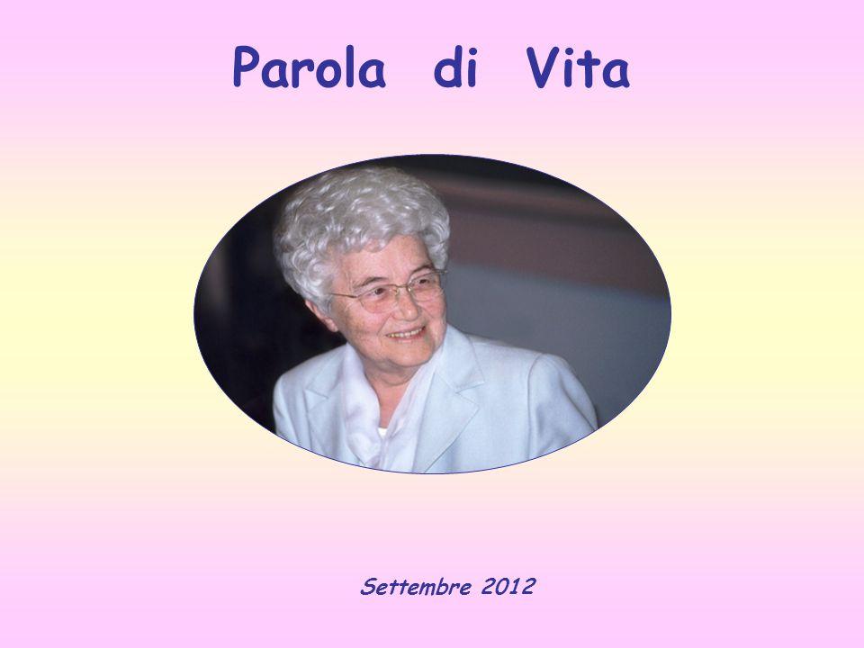 Parola di Vita Settembre 2012
