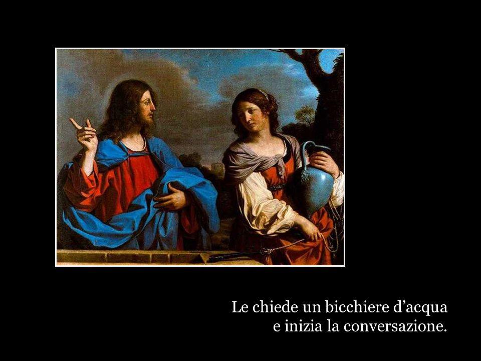 Gesù non dice: questa qui ha già avuto sei mariti, è una donna sciocca, frivola e superficiale.